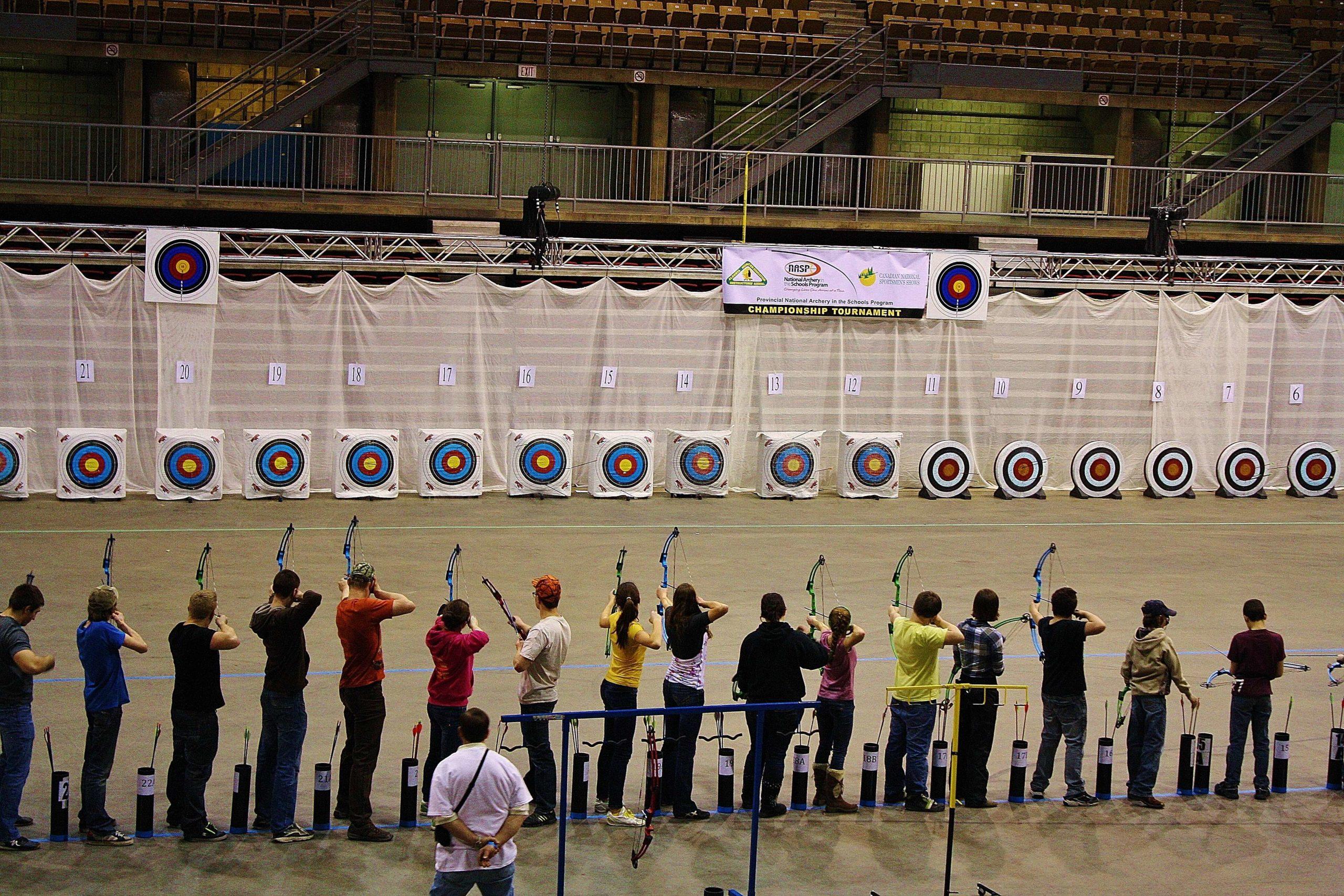2019 AHEIA NASP Provincial Archery Tournament